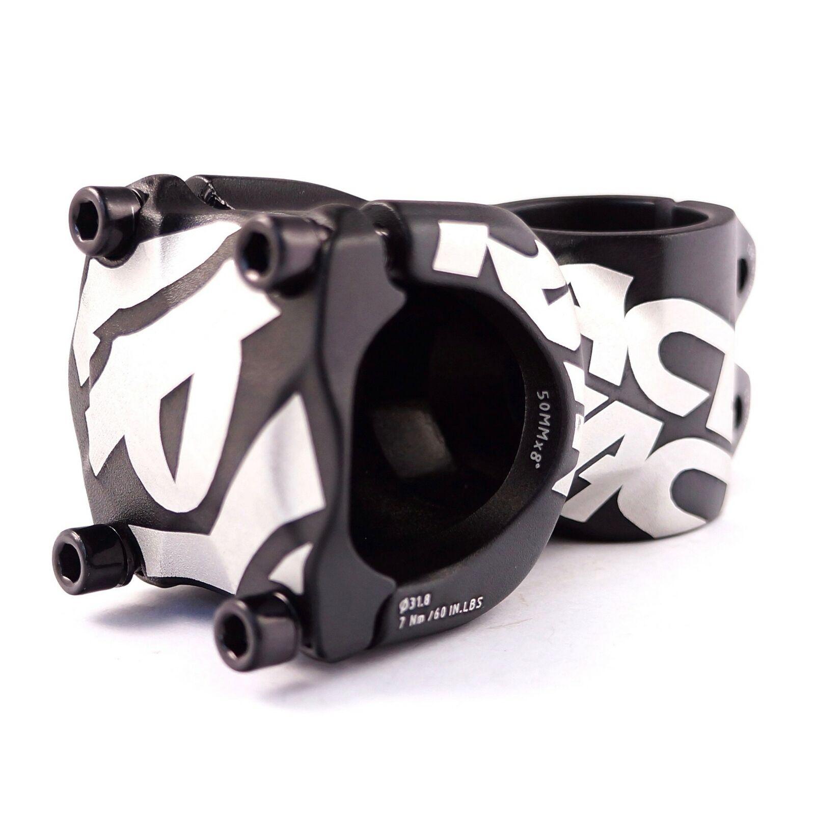 Black Azonic Club Stem 45-50mm Extension 31.8 Clamp