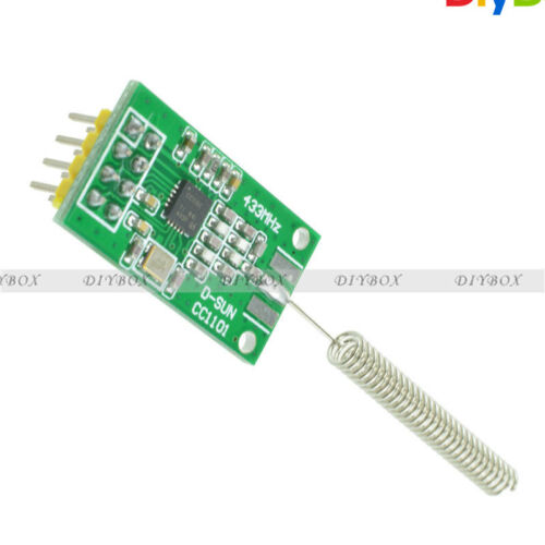CC1101 wireless module //433MHz//2500//NRF 350m Distance Transmission  TOP