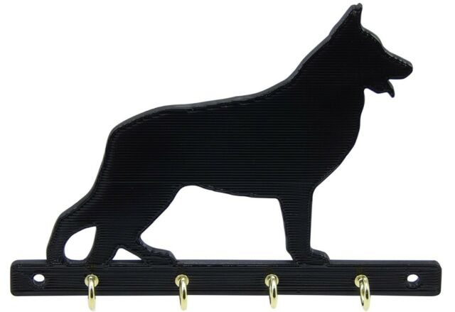 Checkerboard Blue German Shepherd Leash Or Key Holder For Sale Online Ebay