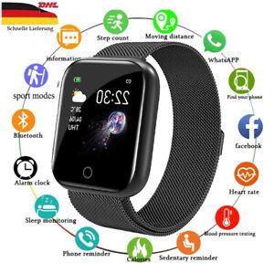 Smartwatch Damen Armband Schrittzähler Fitness Tracker Uhr IP67 Wasserdicht neu