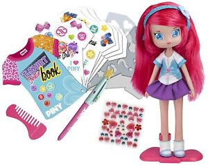 Dolls-House-Piny-Doll-Michelle-with-Book-of-Design-Original-Series-Original-TV