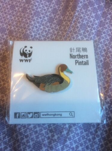 Not RSPB WWF Pin Badge Northern Pintail