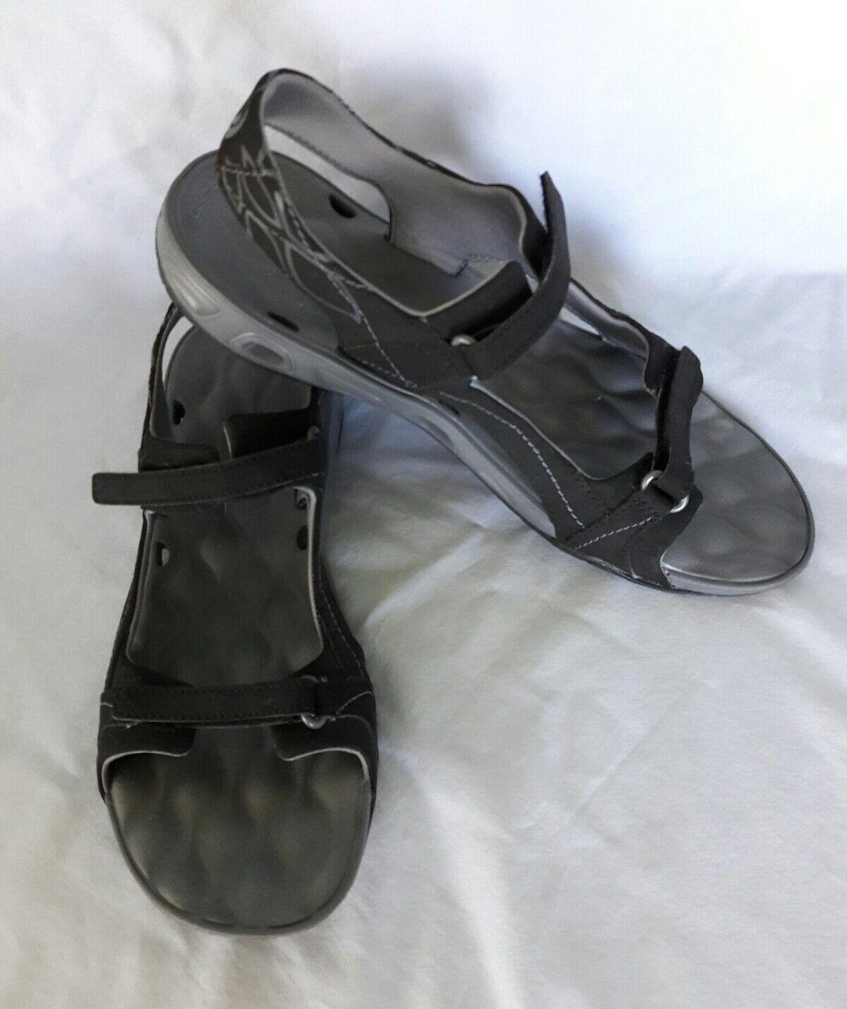 Women Columbia Athletic Sz Omni-Grip Techlite Sandals Black Sz Athletic US10 EUR41 472e19