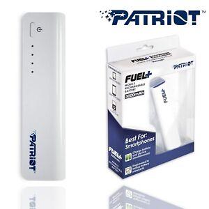 Patriot-External-3000mAh-Power-Bank-Emergency-Portable-Charger-USB-Port-Battery