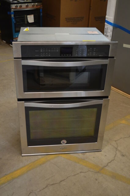 Whirlpool Woc95ec0as 30 Stainless Microwave Oven Wall T 2 14692