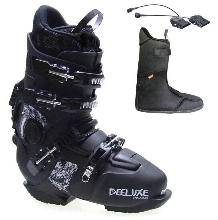 DEELUXE TRACK 325 schwarz SNOWBOARDSCHUH HARDStiefel HP-Flex Innenschuh +Intec Absatz