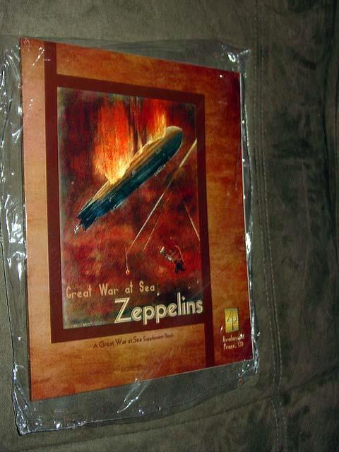 Avalanche Press - - - GREAT WAR at SEA - ZEPPELINS Supplement libro (UNP) bba4ac