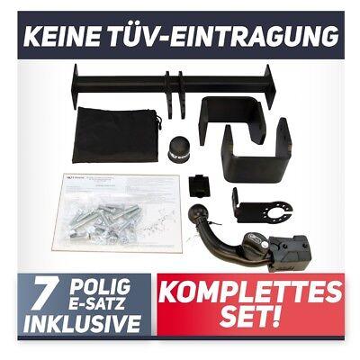 Steinhof Anhängerkupplung AHK für Peugeot 107 2005-2014 /& E-Satz 7-Polig