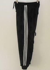 Details about Adidas JEREMY SCOTT TASSEL Track Pants sweats gym superstar OBYO firebird Men Lg