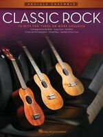 Classic Rock Sheet Music Ukulele Ensembles Mid-intermediate Ukulele En 000103904