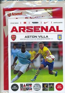 ARSENAL-v-ASTON-VILLA-2013-14-MINT-PROGRAMME