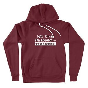 Sweater-Pullover-Hoodie-Will-Trade-Husband-For-Fastpass-Family-Disney-Vacation