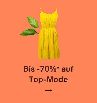 Bis -70%* auf Top-Mode
