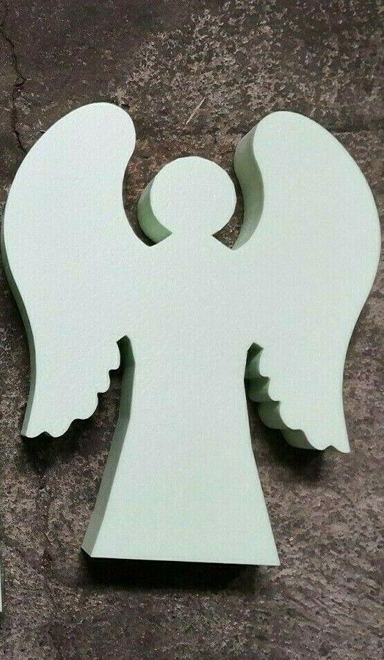 "Beton Gießform STYRODUR /""Engel mit Flügeln/"" 25 cm Advent Fensterdekoration Figur"