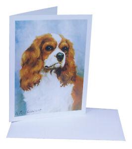 Cavalier King Charles Spaniel Blenheim Card Xmas Birthday ...