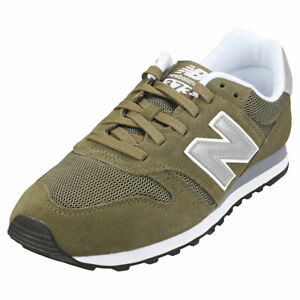 New Balance 373 Mens Olive Suede & Textile Casual Trainers | eBay