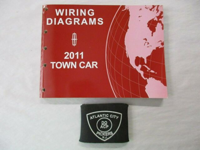 2011 Ford Lincoln Town Car Wiring Diagrams Service Manual