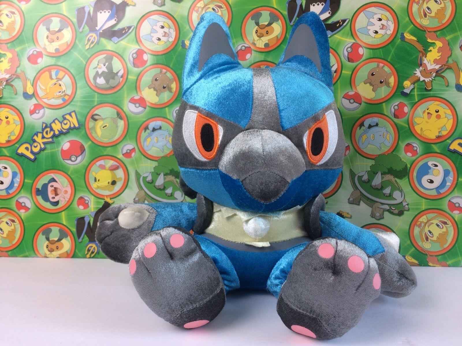 Pokemon Plush Lucario Shiny DX Big 11