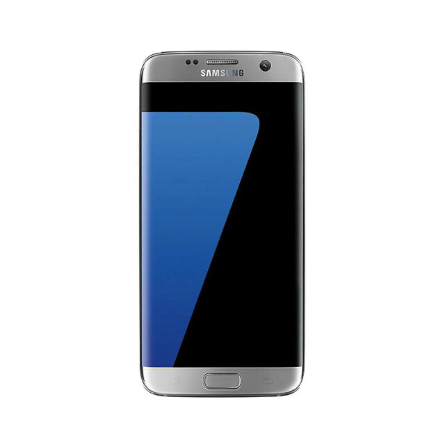 Samsung Galaxy s7 edge 32GB Silver - GSM Unlocked Smartphone Excellent Condition