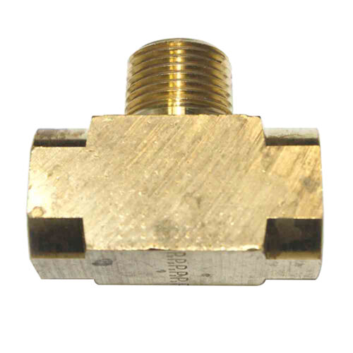 "FP66TB Brass Branch Tee Fitting 3//8/"" NPT Female"