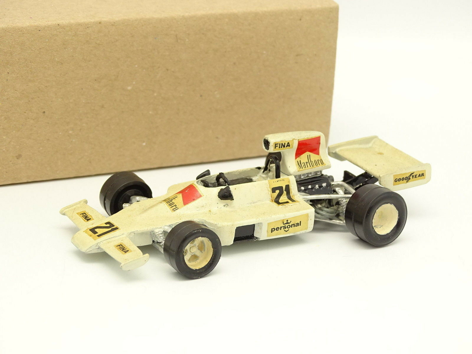 John Day Kit Métal Monté 1 43 - F1 F1 F1 Williams FW02 - GP de Brasil 1975 Laffite 94d3c0
