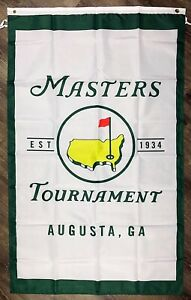Masters-PGA-Flag-3x5-ft-Banner-Augusta-National-Golf-Club-034-MEMBERS-ONLY-034-Sports