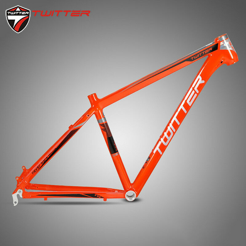 Mountain Bike Aluminum Frame set Straight Headtube 15.5 17 for 2627.5er Wheel