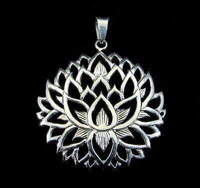 Hindu /& Buddhist Sterling Silver .925 Pendant Caduceus