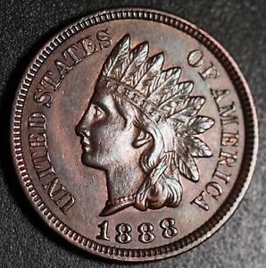 1888-INDIAN-HEAD-CENT-With-LIBERTY-amp-4-DIAMONDS-AU-UNC