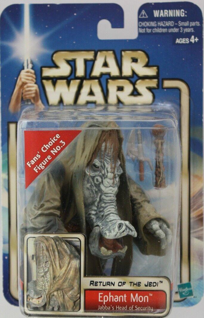 Star wars - rotj ephant mon - action - figur