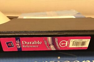 """Avery 11258 1"""" Black Colors Durable Reference Binder"""