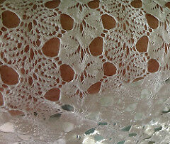 Crochet Hippie Style Lace Fabric Poly Cotton /& Rayon Blends By 1//2 Meter