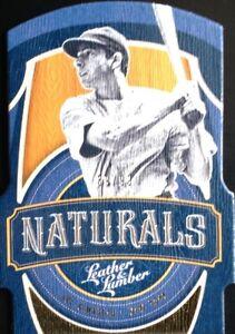 2019-Panini-Leather-amp-Lumber-Joe-DiMaggio-Naturals-Gold-Die-cut-Yankees-SP-99