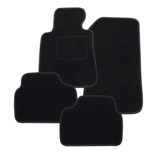 ab 04//02 RAU Fussmatten ACTION schwarz für Hyundai Coupe 3trg Bj