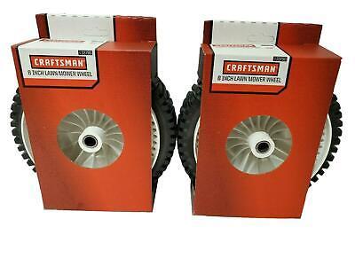 """2 OEM Craftsman Self Propelled Push Mower Wheels 151156 8/"""" X 2/"""" 71 33790"""
