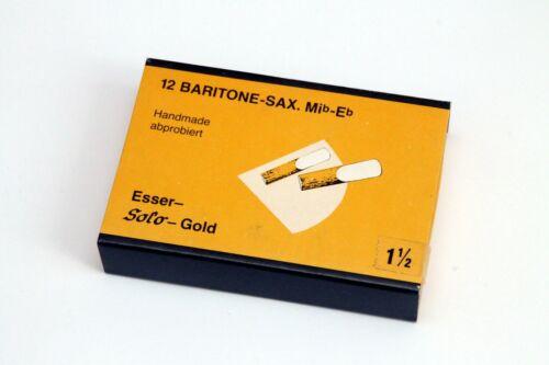 tenor bariton Esser Solo Steuer Sax Reeds //Saxophon Blätter 12Stk// sopran alt