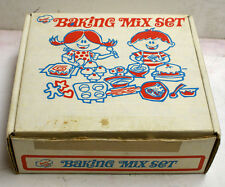 Vintage 60's Sears  Junior Chef Baking Mix Set    in Original Box    many extras