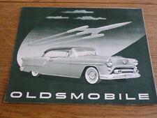 OLDSMOBILE 1954 SALES BROCHURE
