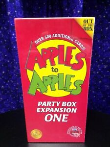 Apples to Apples Card Game Replacement Factory Sealed Cards 1 Pack New