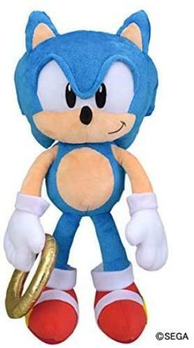 Sega Interactive Sonic The Hedgehog Odekake Plush Classic Sonic For Sale Online Ebay