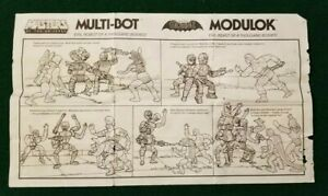 MOTU-MODULOK-Instructions-Sheet-Only-Masters-of-the-Universe-1985-He-Man
