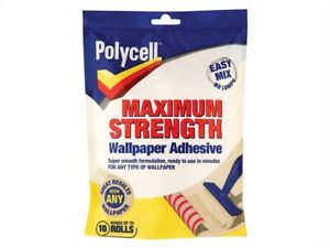 Polycell-PLCMSWPA10R-Maximum-Strength-Wallpaper-Adhesive-10-Roll