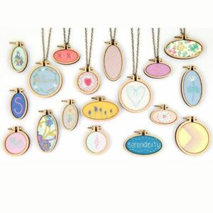 Wooden embroidery cross stitch hoop mini needlework diy pendant image is loading wooden embroidery cross stitch hoop mini needlework diy aloadofball Gallery