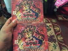 Yu-Gi-Oh LOT 2x Pharaoh's Servant Unlimited Edition 24-Pack Booster Box Sealed !