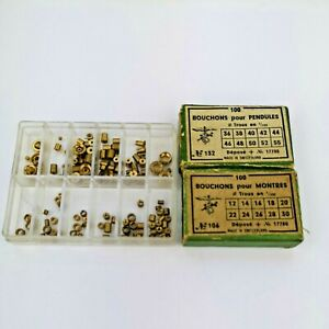 Collection of Bushes Bouchons Parts for Clocks inc. Pendulum (CZ24)