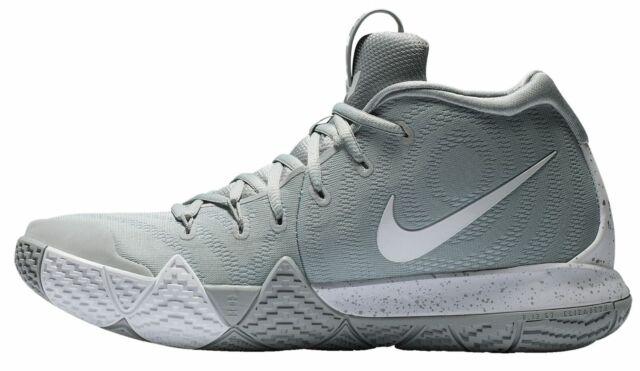 huge discount 6e310 2f822 Nike Kyrie 4 TB Mens Av2296-002 Wolf Grey White Basketball Shoes Size 12
