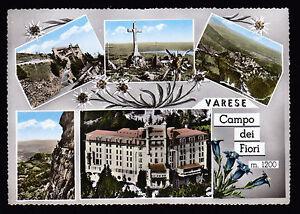 VARESE-CARTOLINA-CAMPO-DEI-FIORI-FG-VG-1961-EDIZ-GATTI-amp-VANONI-BROMOCOLOR