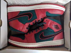 12 Mid Jordan Nike Größe 608 1 Sea Rot Air Dark 633206 Schwarz Gym tft7wHOq