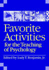 Favorite Activities for the Teaching of Psychology by American Psychological Association (Paperback, 2008)