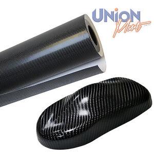 4D Carbone Fibre Vinyle Wrap Film Bulle & Air 1520mm x 600mm gratuit Noir-afficher le titre d`origine LGiW4XFl-07141737-508678600